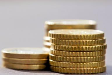 Münzen als Darstellung für eine Kalkulation