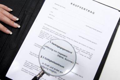 Ein notarieller Kaufvertrag unter der Lupe