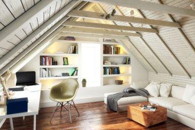 Ausgebaute Dachwohnung
