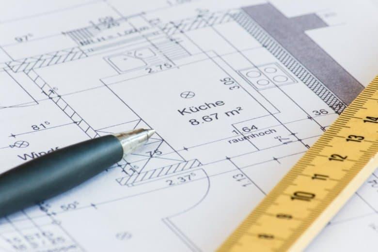 Eine Wohnflächenberechnung auf Grundlage des Grundrisses