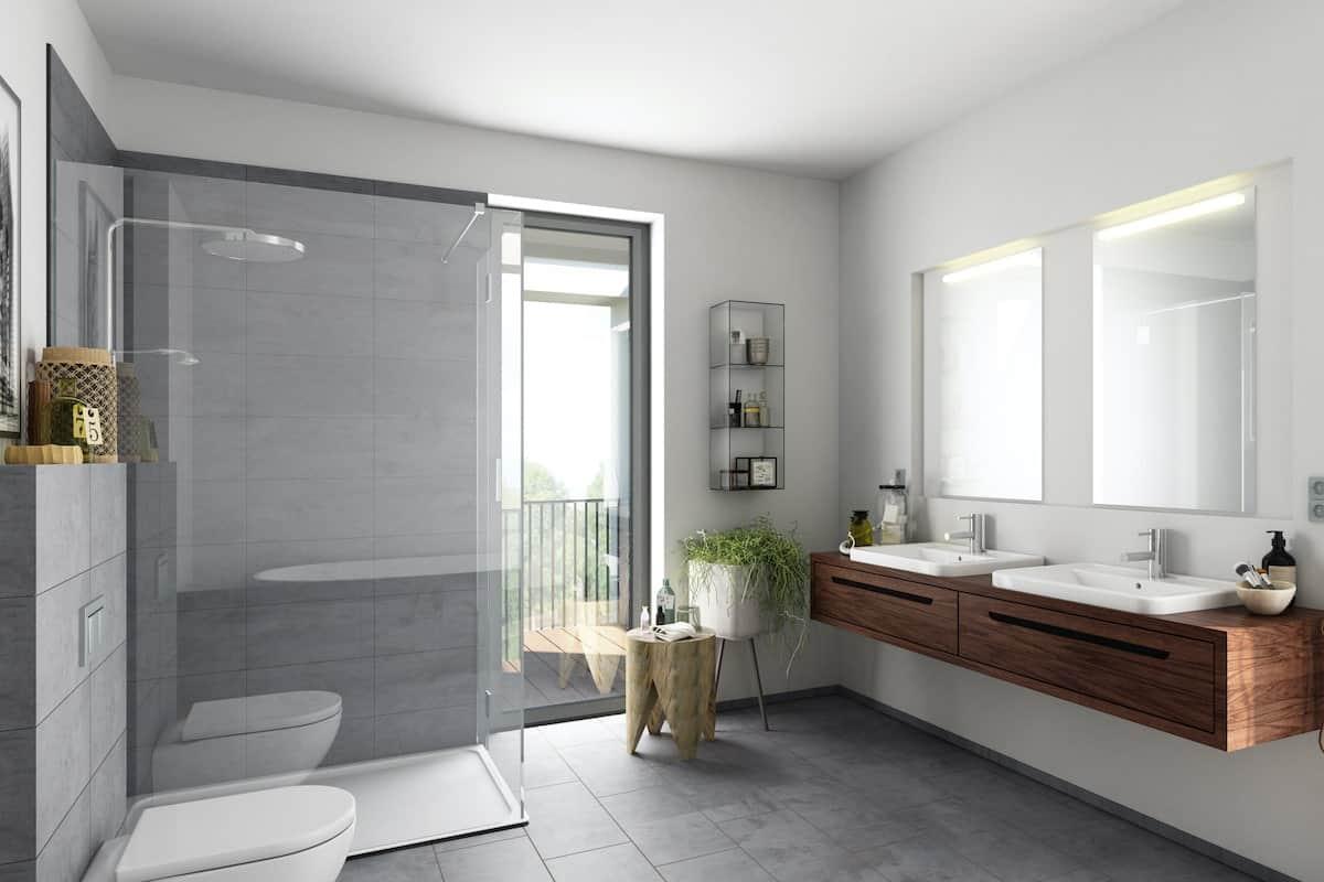 Sanitärinstallation - Das Wichtigste über Dusche, Waschtisch
